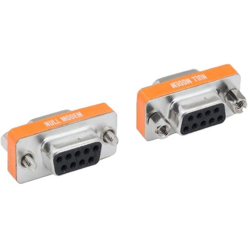 Tera Grand Mini Null Modem Adapter, DB9 Female Female