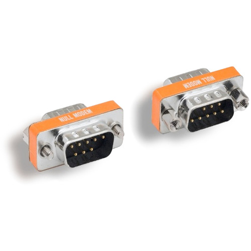 Tera Grand Mini Null Modem Adapter, DB9 Male Male
