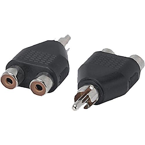 Tera Grand RCA Male to 2 RCA Female Adapter