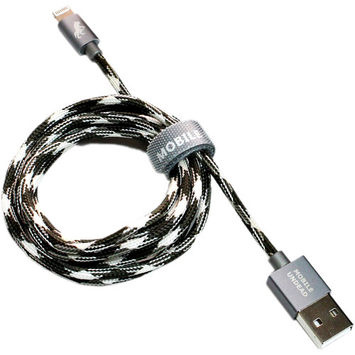 Tera Grand Mobile Undead Apple MFi-Certified Lightning to USB Cable (Werewolf, 5')