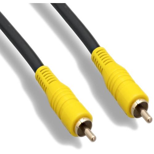 Tera Grand 25' RCA Male/RCA Male Composite Video Cable 75 OHM RG-59