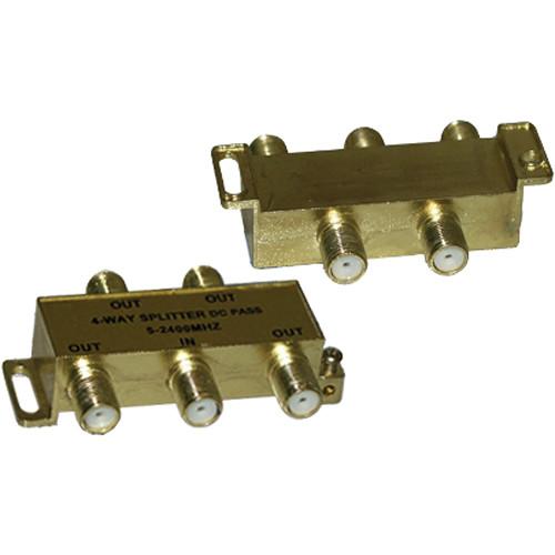 Tera Grand 4-Way F-Type Coax Cable Splitter