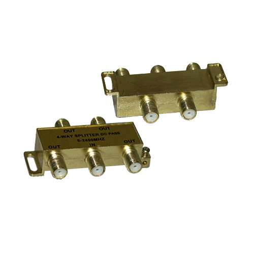 Tera Grand 4 Way - 1GHz F-Type Coax Cable Splitter