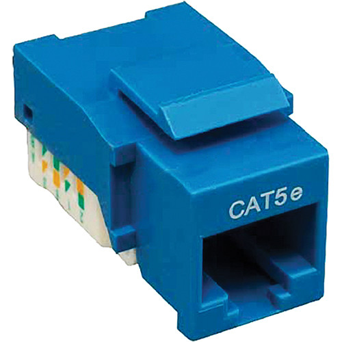 Tera Grand CAT5e Tool-Less Keystone Jack (Blue)