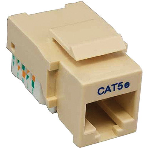 Tera Grand CAT5e Tool-Less Keystone Jack (Ivory)