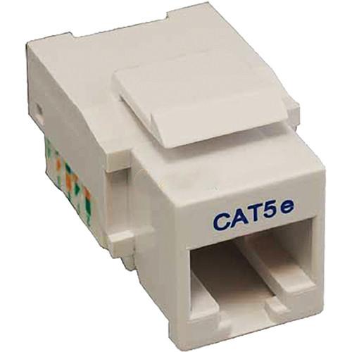 Tera Grand CAT5e Tool-Less Keystone Jack (White)
