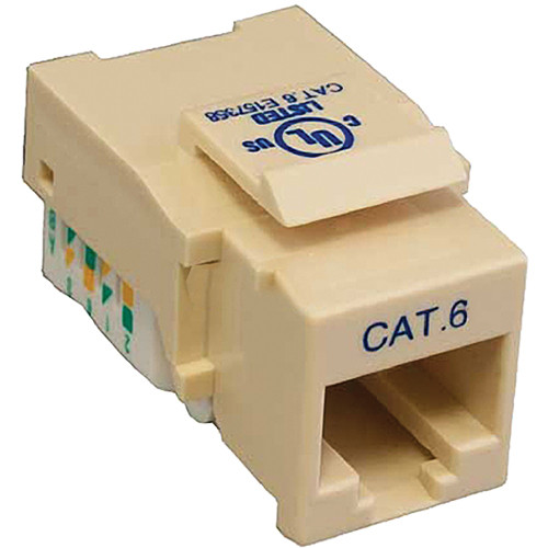 Tera Grand CAT6 Tool-Less Keystone Jack (Ivory)