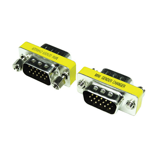 Tera Grand Mini Gender Changer HDB15 Male to HDB15 Male
