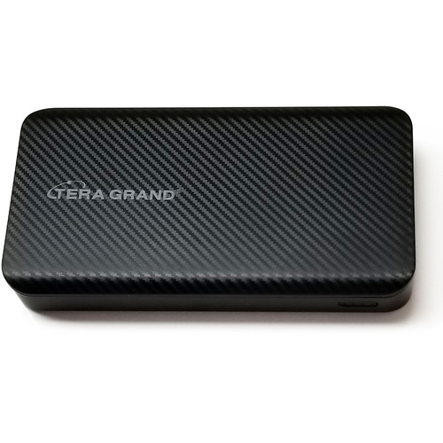 Tera Grand 10,000mAh Triple Input and Output USB Type-C Power Bank (Black)