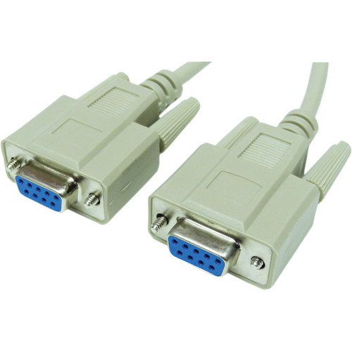 Tera Grand DB9 Female to DB9 Female RS-232 Serial Cable (10')