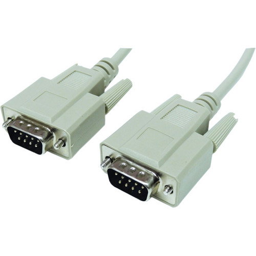 Tera Grand DB9 Male to DB9 Male RS-232 Serial Cable (10')