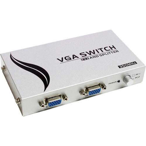 Tera Grand 2 x 2 VGA Switch and Splitter