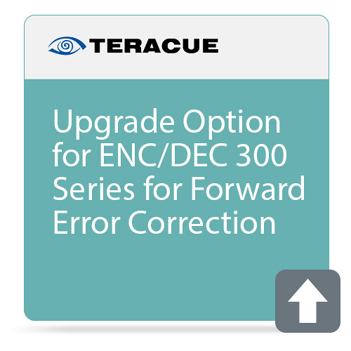 Teracue Forward Error Correction Upgrade for ENC/DEC-300 Series