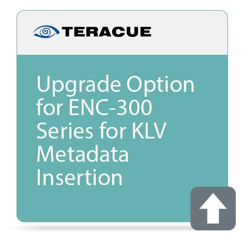 Teracue KLV Metadata Insertion Upgrade for ENC/DEC-300 Series