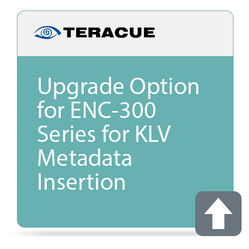 Teracue KLV Metadata Insertion Upgrade for ENC/DEC-300 Series
