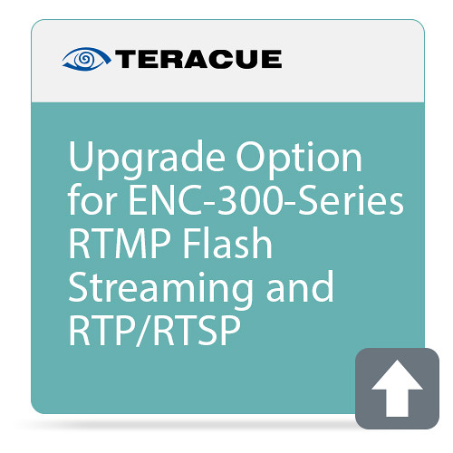 Teracue RTMP Flash Streaming and RTP/RTSP Upgrade for ENC-300 Series