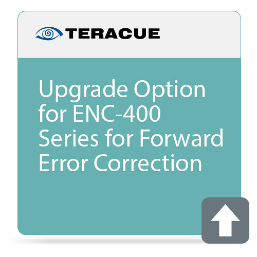 Teracue Pro-MPEG Option with Forward Error Correction Upgrade for ENC-400 Series