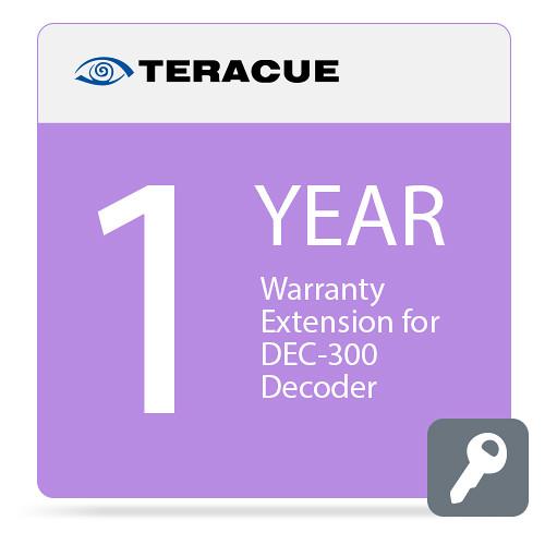 Teracue 1-Year Warranty Extension for DEC-300 Decoder