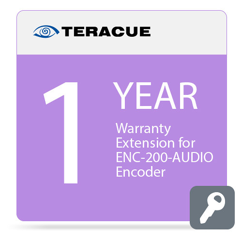 Teracue 1-Year Warranty Extension for ENC-200-AUDIO Encoder