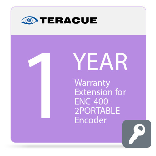 Teracue 1-Year Warranty Extension for ENC-400-2PORTABLE Encoder