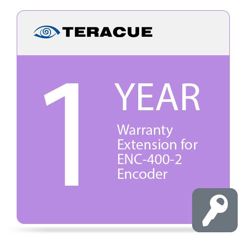 Teracue 1-Year Warranty Extension for ENC-400-2 Encoder