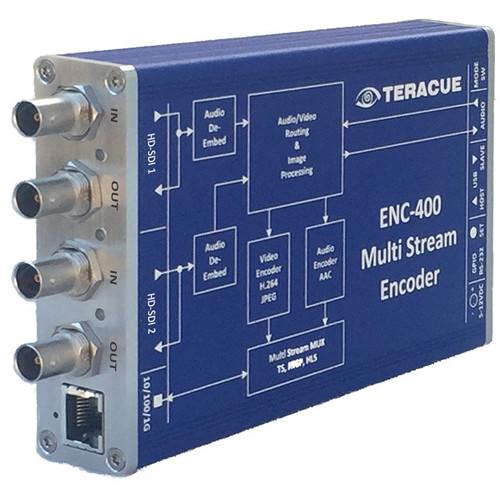 Teracue ENC-400 HD/SD H.264 and MJPEG Encoder with Dual HD-SDI Input