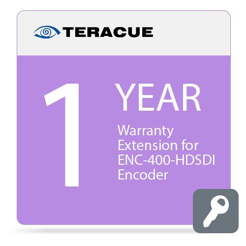 Teracue 1-Year Warranty Extension for ENC-400-HDSDI Encoder