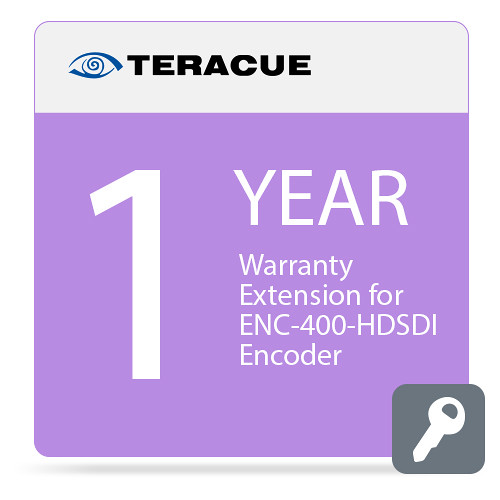 Teracue 1-Year Warranty Extension for ENC-400-HDSDI Encoder