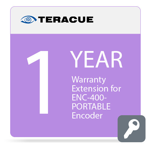 Teracue 1-Year Warranty Extension for ENC-400-PORTABLE Encoder