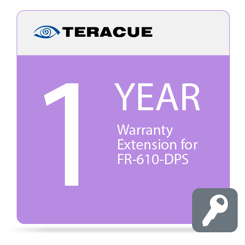 Teracue 1-Year Warranty Extension for FR-610-DPS Chassis