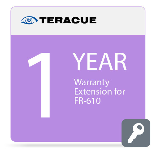 Teracue 1-Year Warranty Extension for FR-610 Chassis