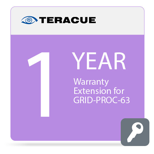 Teracue 1-Year Warranty Extension for GRID-PROC-63 Processor