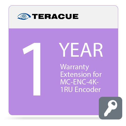 Teracue 1-Year Warranty Extension for MC-ENC-4K-1RU Encoder