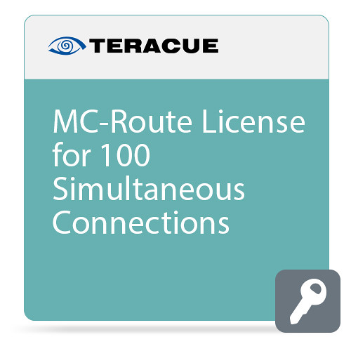 Teracue MC-ROUTE License for 100 Simultaneous Connections
