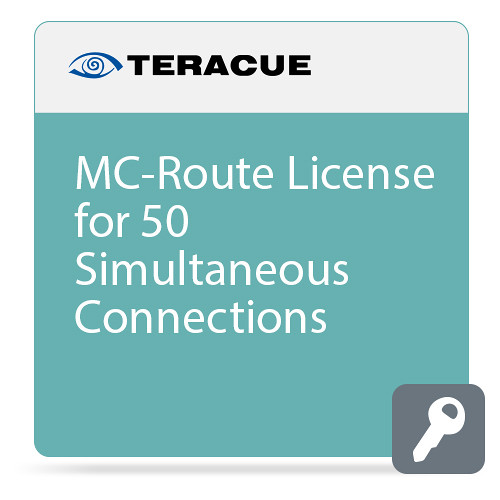 Teracue MC-ROUTE License for 50 Simultaneous Connections