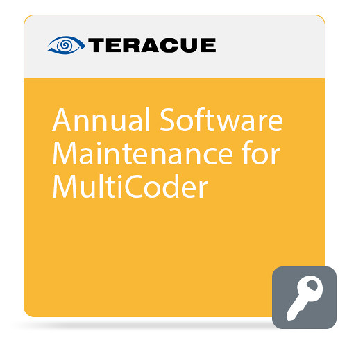 Teracue Annual Software Maintenance for MultiCoder