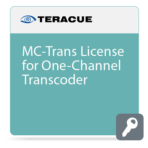 Teracue MC-Trans Software License for One-Channel Transcoder