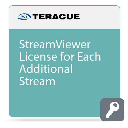 Teracue Additional Stream License for StreamViewer Software