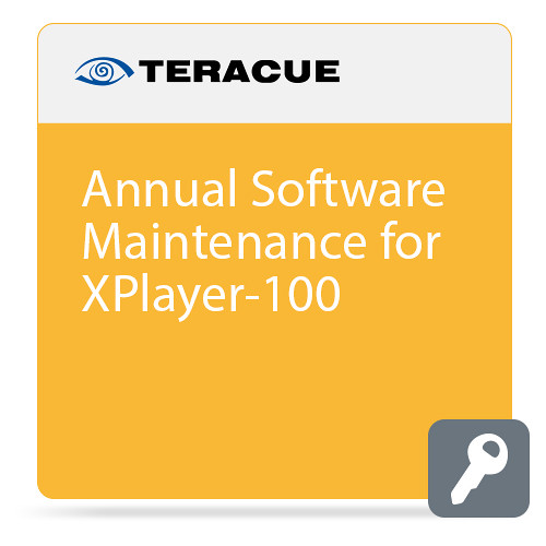 Teracue Annual Software Maintenance for Xplayer-100 ICUE Player