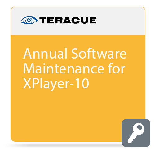 Teracue Annual Software Maintenance for Xplayer-10 ICUE Player