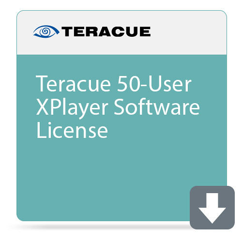Teracue 50-User XPlayer Software License