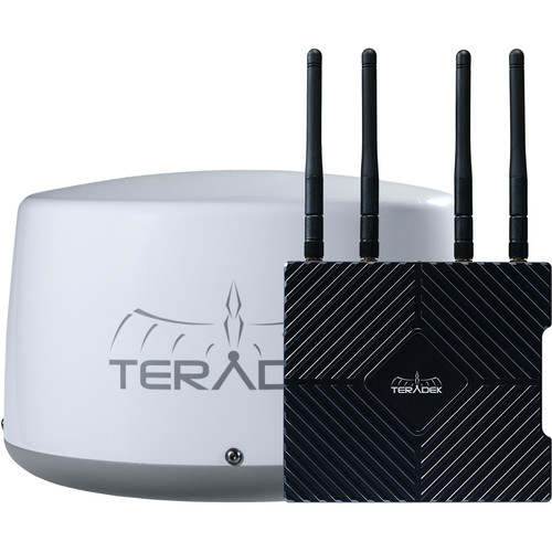 Teradek Link Pro Router with Radome & 4 x Nodes Kit (Europe & Asia Pacific, V-Mount)