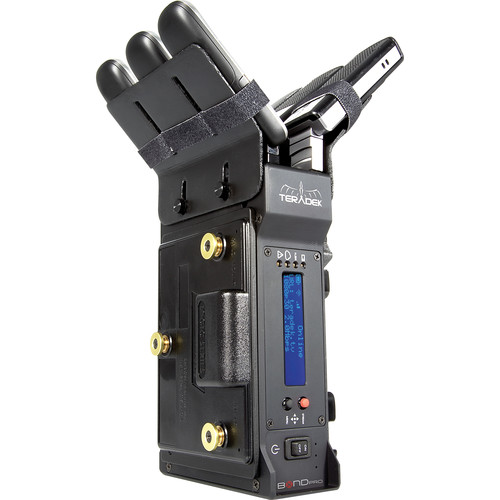 Teradek Bond Pro Integrated Camera-Back H.264 Cellular Bonding Solution HD-SDI (Gold-Mount)