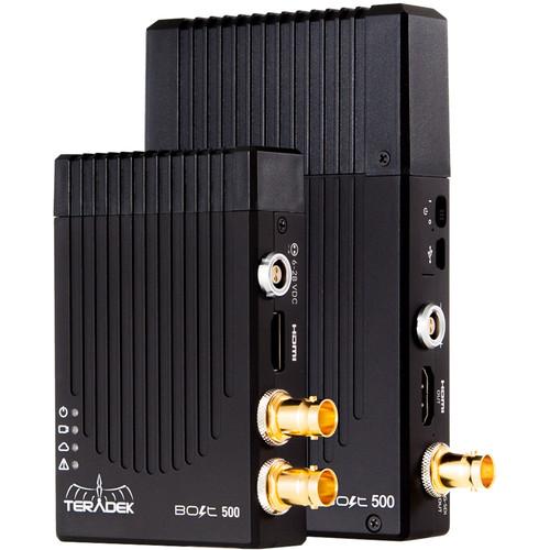 Teradek Bolt 500 SDI/HDMI Wireless Video Transceiver Set with One Receiver