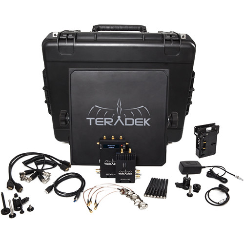 Teradek Bolt 600 SDI/HDMI Wireless Video Transmitter/Receiver Deluxe Kit