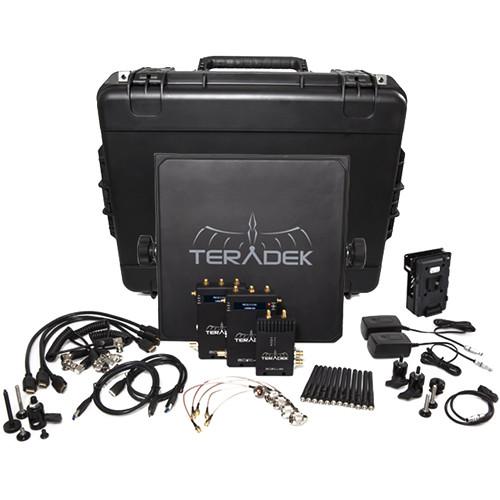 Teradek Bolt 600 SDI/HDMI Wireless Video Transmitter/TwoReceiver Deluxe Kit