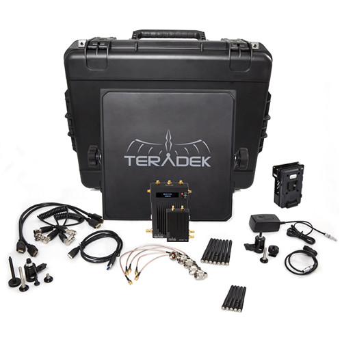 Teradek Bolt 1000 SDI/HDMI Wireless Transmitter & Receiver Deluxe Kit (V-Mount)