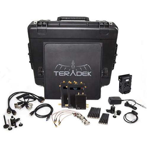 Teradek Bolt 1000 SDI/HDMI Wireless Transmitter & Dual Receiver Deluxe Kit (V-Mount)