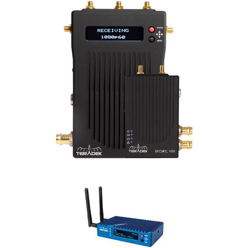 Teradek Bolt 1000 SDI/HDMI Wireless Video Transmitter/Receiver Kit with Serv Pro (Promo)
