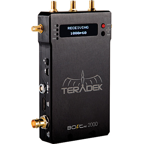 Teradek Bolt Pro 2000 Classic Wireless HD-SDI Video Receiver